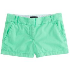 """J.Crew 3"""" chino short ($45) ❤ liked on Polyvore"""