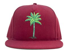 "HALLOWAY ""Palms"" Snapback Cap"