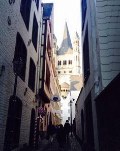 Kölner Altstadt, Blick auf Groß-Sankt Martin