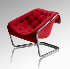 Kwok Hoi Chan Boxer Chair Re-edition Cute Furniture, Inexpensive Furniture, Furniture Design, Industrial Dining Chairs, Cozy Chair, Contemporary Chairs, Living Room Chairs, Chair Design, Decoration
