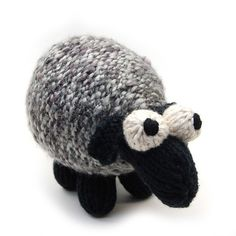 Sheepish Lamb Knit Amigurumi Plush Toy Pattern