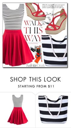 """#3 TwinkleDeals 2"" by fashion-pol ❤ liked on Polyvore featuring Anja and vintage"