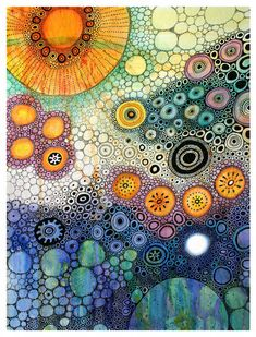 """nervous in the light of dawn"" by Camartim - Watercolor & Ink zentangle Alcohol Ink Painting, Alcohol Ink Art, Pintura Graffiti, Drawn Art, Art Graphique, Aboriginal Art, Art Plastique, Watercolor And Ink, Watercolor Circles"