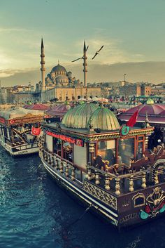 Istanbul, Eminönü by Seda Sahin on Istanbul City, Istanbul Travel, Places Around The World, Travel Around The World, Around The Worlds, Hagia Sophia, Places To Travel, Places To See, Turkey Travel
