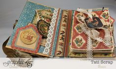 Tati, Recipe Album, French Country, Product by Graphic 45, Photo 5