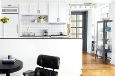 This Small Kitchen Features Storage in a Place You've Never Even Considered — Small-Space Kitchens