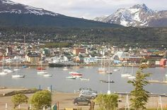 Ushuai. Tierra del Fuego. Argentina Ushuaia, San Francisco Skyline, Dolores Park, River, Outdoor, Traveling, Buenos Aires, Argentina, Yacht Club