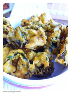Spicy Kale Fritters.