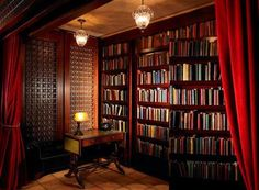 Private library secret room.... :)