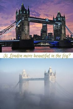 Is London more beautiful in the fog? Here's an insight into Monet's art and some thoughts by locals.