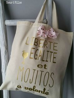 PicsArt_1444649227683 Sacs Tote Bags, Diy Tote Bag, Reusable Tote Bags, Silhouette Portrait, Girly Things, Shopping Bag, Creations, Phrases, Fabric