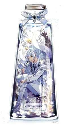 ハッピーアルビオーン~ #霜月隼生誕祭2018 pic.twitter.com/KxenevigYS Anime Boys, Cute Anime Boy, Tsukiuta The Animation, Otaku, Prince, Beautiful Anime Girl, Cardcaptor Sakura, Anime Artwork, Jack Frost