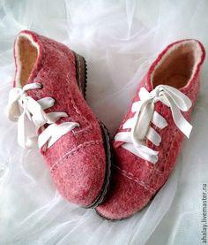 """Обувь ручной работы. Ярмарка Мастеров - ручная работа. Купить Туфли валяные женские демисезонные """"Стильный комфорт"""". Handmade."""