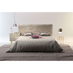 Shop for Barcelona Mid-Century Queen Bed with Headboard. Get free shipping at Overstock.com - Your Online Furniture Outlet Store! Get 5% in rewards with Club O!
