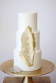 Geode Cake   O bolo perfeito para diversas bodas   Nossas Bodas   Aniversário de Casamento