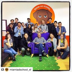 #Repost @miamiadschool_sf  This past Friday we held our beginning of the quarter party welcoming our 17 new students!  Great time with an amazing new group of creatives we are so happy you all are here! #massf #miamiadschool #adlife #creativelife