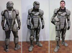 gears of war foam armor cosplay
