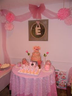 "Photo 3 of 24: Vintage/Pink / Baby Shower/Sip & See ""Sweet Vintage Baby Shower"" 