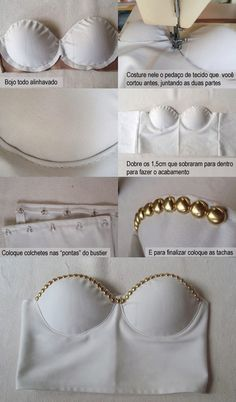 DIY Cropped Bustier !