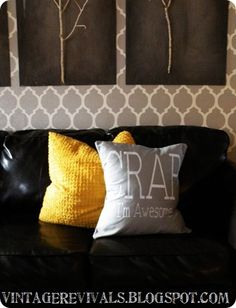 Vintage Revivals | How To Sew A Pillow (EASY!!)