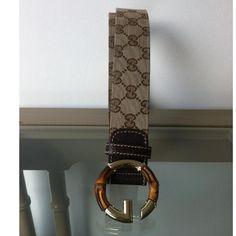 Tip: Gucci Belt (Beige)