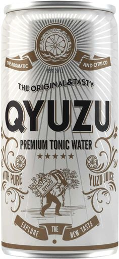 Qyuzu Tonic Tonic Water, Gin And Tonic, Gins Of The World, Bottle Packaging, Soda, Juice, Beverages, Cocktails, Tasty