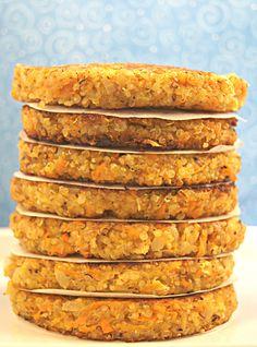 Gluten Free Quinoa Burgers