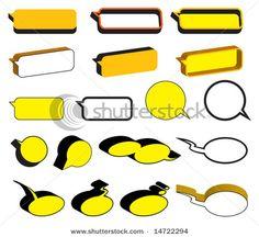 Stock Vector Illustration:  yellow balloons