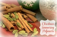 The Official Scent of Christmas: Simmering Potpourri Recipe