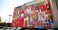#brooklyn large painted mural new york street art fine art public art