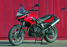2013 BMW F 700 GS, which was featured in the March 2013 issue of Rider magazine.