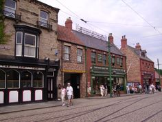 Beamish Museum of the North, Beamish, County Durham, England.