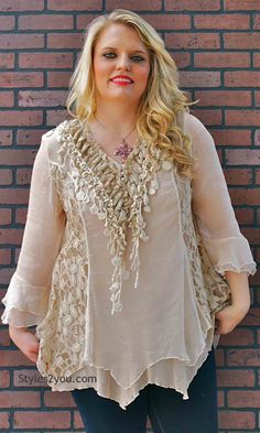 Ready to Ship! Victorian Blouse, Plus Size, Sewn-on Corset Style ...