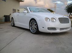 Bentley Continental GTC replica  can you believe This is a Chrysler sebring !