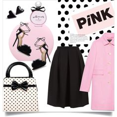 How To Wear pink coat Outfit Idea 2017 - Fashion Trends Ready To Wear For Plus Size, Curvy Women Over 20, 30, 40, 50
