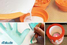 Basteln mit Gips – DIY-Ideen wie Gipsabdrücke der Hand & Co