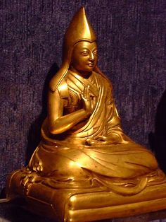 Fifth Panchen Lama Lobsang Yeshe 1663-1737 Tibet 18th century Ce Gilt copper alloy
