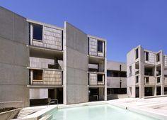 The Salk Institue, Louis Kahn. USA
