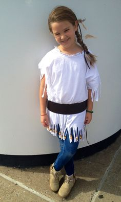 How to make girls indian costume in few minutes all you need is girls indian costume homemade by daddy solutioingenieria Choice Image