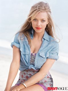 Amanda Seyfried's Teen Vogue Cover Shoot Photos