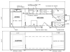 Tiny House Plans Calpella and Cleone tiny house ideas