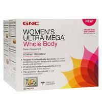 Get this convenient GNC Women's Ultra Mega Whole Body multivitamins – cover your body's daily needs from head-to-toe. http://www.americanlifestyle.com/p/14225/GNC-Womens-Ultra-Mega-Whole-Body
