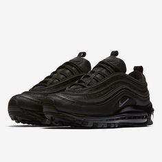 "The Nike Air Max 97 ""Triple Black""."