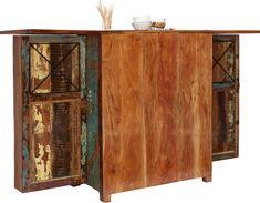 Bar multicolor, Massivholz Credenza, Liquor Cabinet, Storage, Furniture, Home Decor, Closet Storage, Timber Wood, Purse Storage, Homemade Home Decor