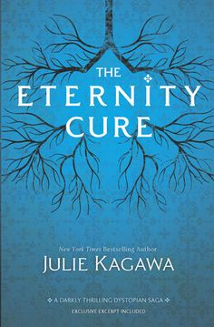 The Eternity Cure (Blood of Eden, #2) by Julie Kagawa. Cast out of Eden and separated from the boy she dared to love, Allie will follow the call of blood to save her creator, Kanin, from the psychotic vampire Sarren. But when the trail leads to Allie's birthplace in New Covington, what Allie finds there will change the world forever--and possibly end human and vampire existence.