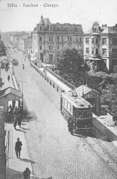 #Cieszyn Dawno, dawno temu można było przejechać się tam tramwajem :-)