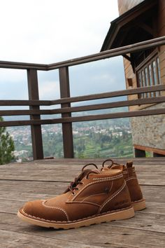 products shoes boot leather | the speaks parompong west java