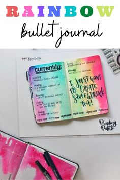 Rainbow theme bullet journal layout and spread inspiration that you need to see! These monthly theme layouts are way too gorgeous! Bullet Journal Period Tracker, Bullet Journal Hacks, Bullet Journal Spread, Bullet Journal Layout, Bullet Journal Inspiration, Rainbow Facts, Rainbow Theme, Bullet Journal Headers And Banners, Bullet Journal Washi Tape