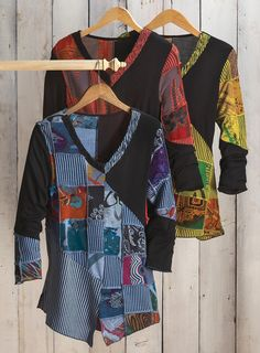 soft rayon knit top flatters every shape. acacia.com