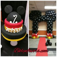 # Mickey Mouse  Balloon Arch @bklynfavors.com